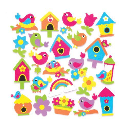 spring-bird-foam-stickers-aw306